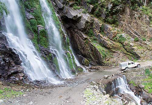 Waterfall Annapurna Circuit Nepal Panoramio 1